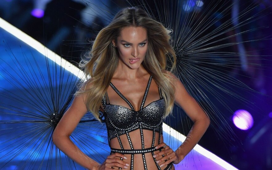 Victoria's Secret šou akimirkos