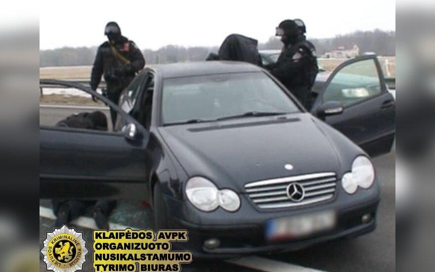 """Klaipėdoje baigtas tyrimas dėl neteisėtai parduoto narkotikų prekeivių """"Mercedes"""""""