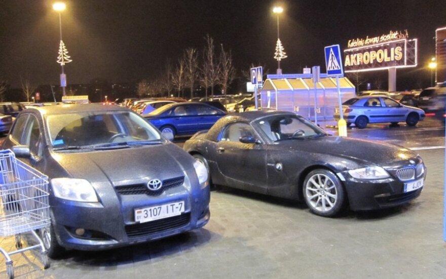 Vilniuje, prie PC Akropolis. 2011-12-27