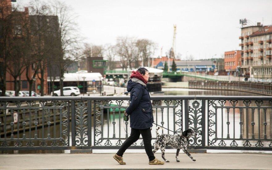 Klaipėdoje bus tvarkomas pakeliamasis Biržos tiltas per Danę