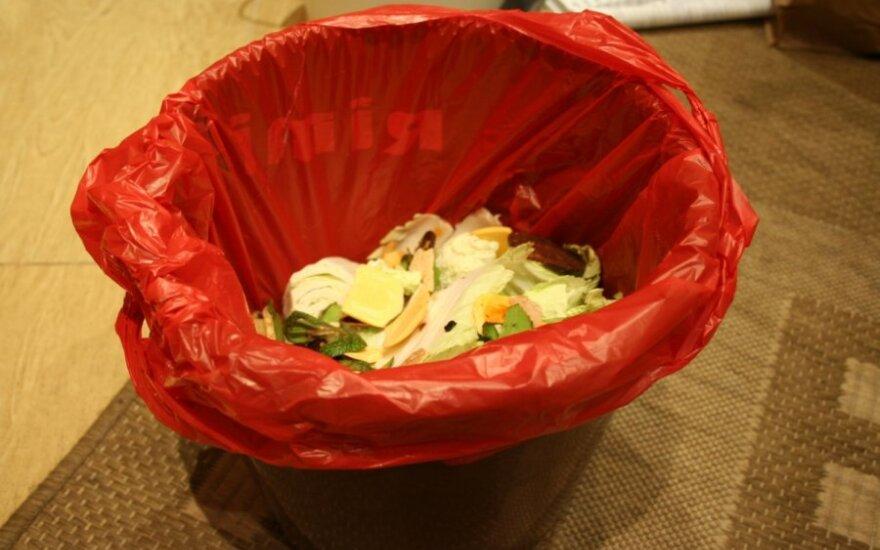 Buitinių atliekų šiukšliadėžė