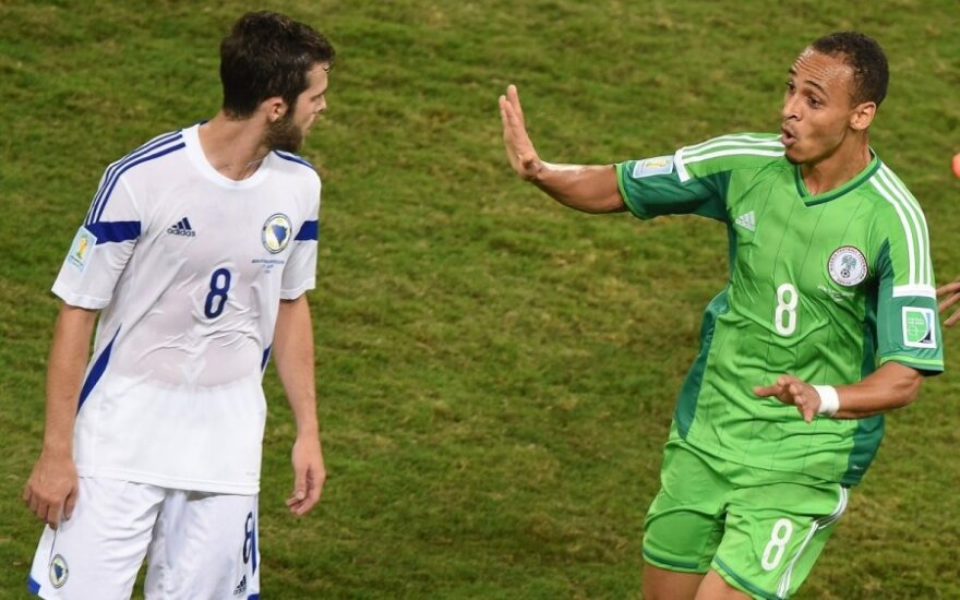 Pasaulio futbolo čempionatas: Bosnija ir Hercegovina - Nigerija