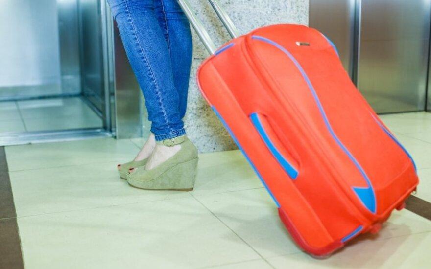 Keliaujančiojo galvos skausmas – prarastas bagažas