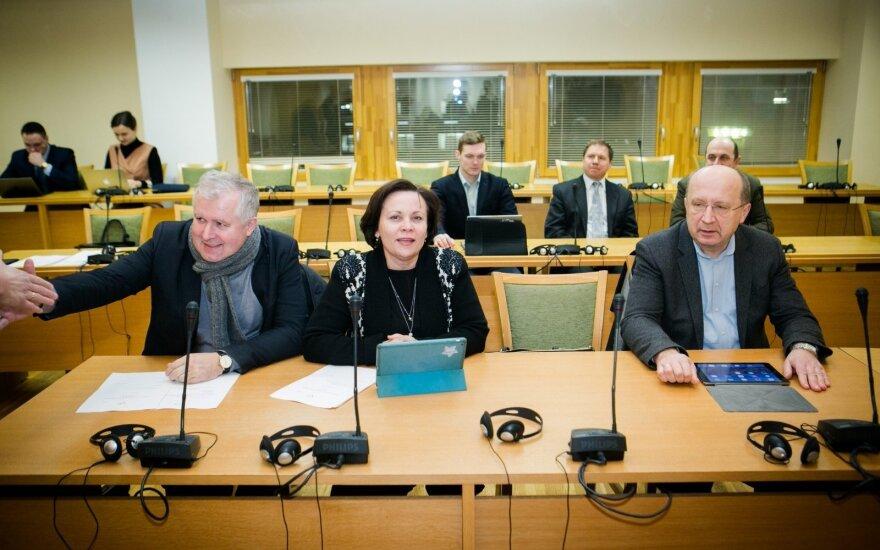 Arvydas Anušauskas, Rasa Juknevičienė, Andrius Kubilius