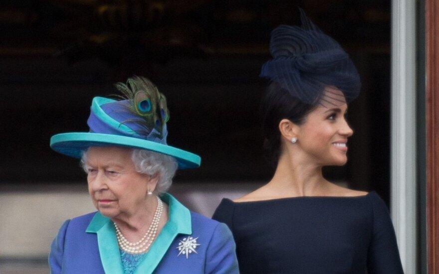 Megan Markle ir karalienė Elžbieta II