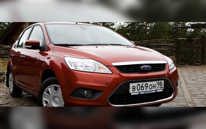 """""""Ford"""" Rusijoje pardavė jau 500 tūkst. """"Focus"""""""