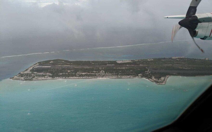 Galingas uraganas iš žemėlapių ištrynė salą