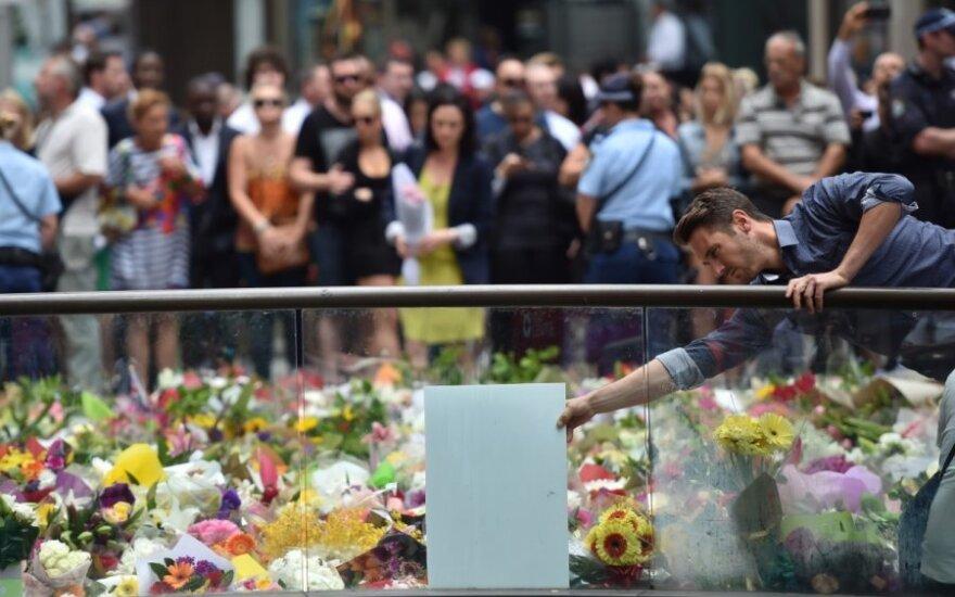 Australija gedi po įkaitų dramos Sidnėjuje