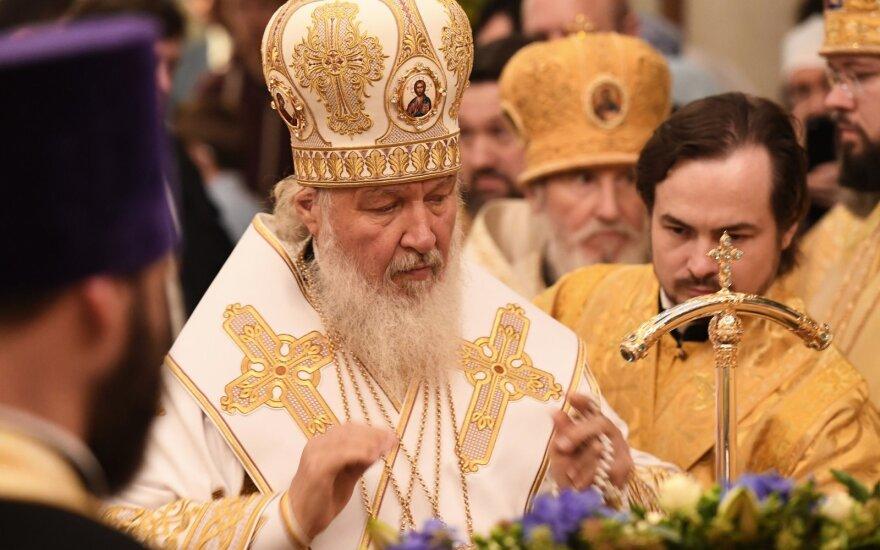 Ukrainoje atidėtas balsavimas dėl Rusijos patriarchatui pyktį keliančio įstatymo projekto