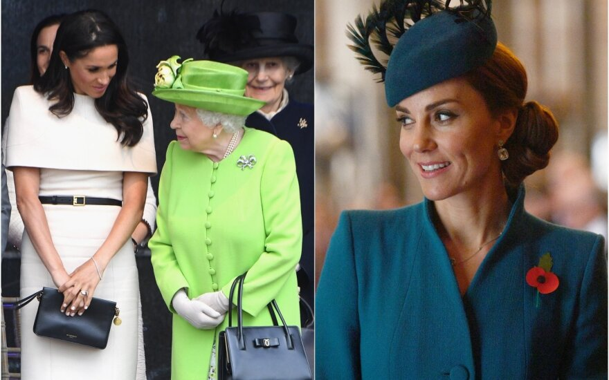 Karalienė, Mrghan Markle, Kate Middleton