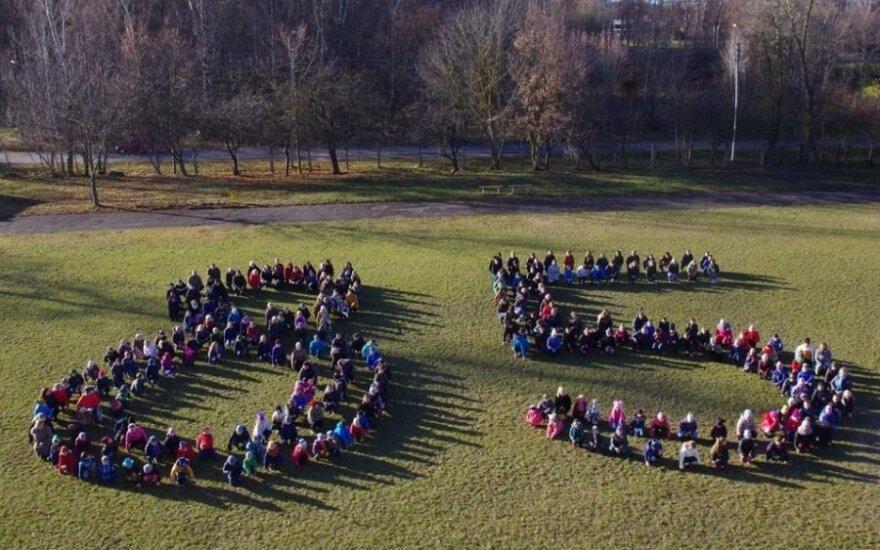 Vinco Kudirkos progimnazija originaliai paminėjo mokyklos 85-metį
