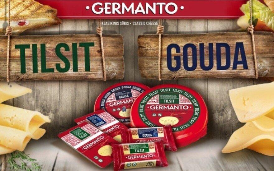 GERMANTO sūriai