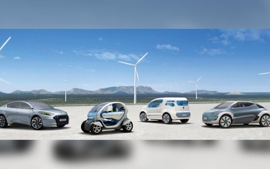 Renault koncepciniai elektromobiliai