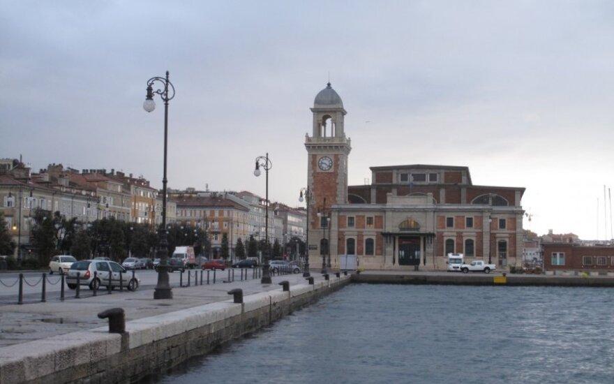 Triestas - miestas prie Adrijos