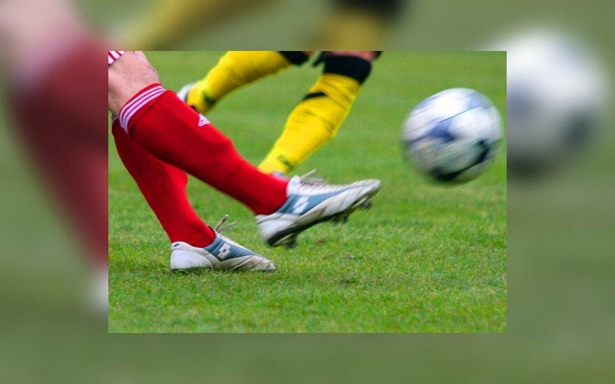 """12-a iš eilės FBK """"Kauno"""" pergalė Lietuvos futbolo pirmoje lygoje"""
