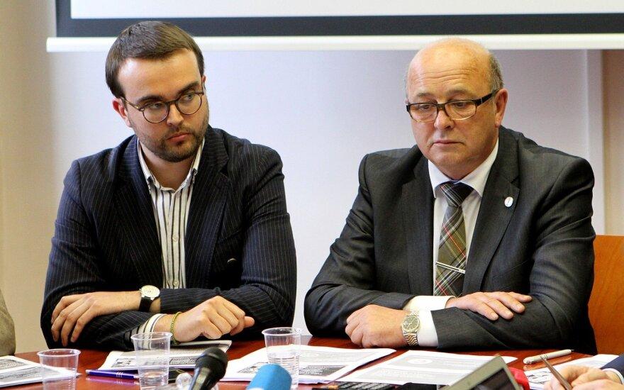 Povilas Mačiulis ir Visvaldas Matijošaitis