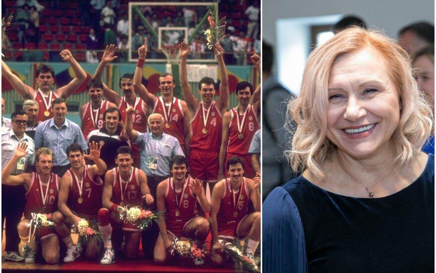 Seulo olimpinė čempionė SSRS krepšinio rinktinė, Laimutė Baikauskaitė