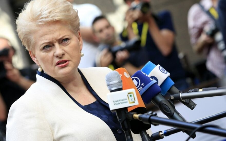 President Grybauskaitė: We must put a stop to mistralisation of European politics