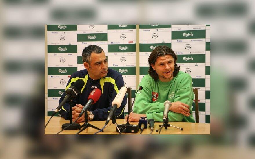 Jose Couceiro ir Tomas Danilevičius