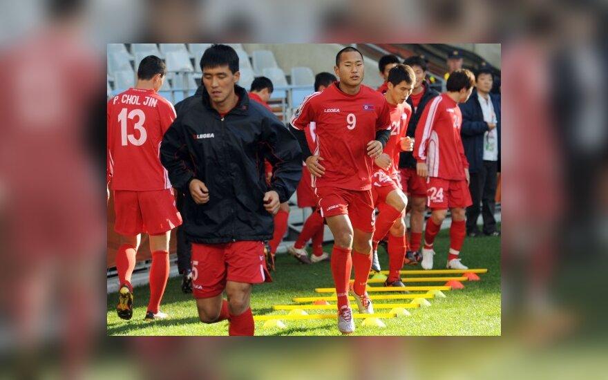 Šiaurės Korėjos rinktinės futbolininkai