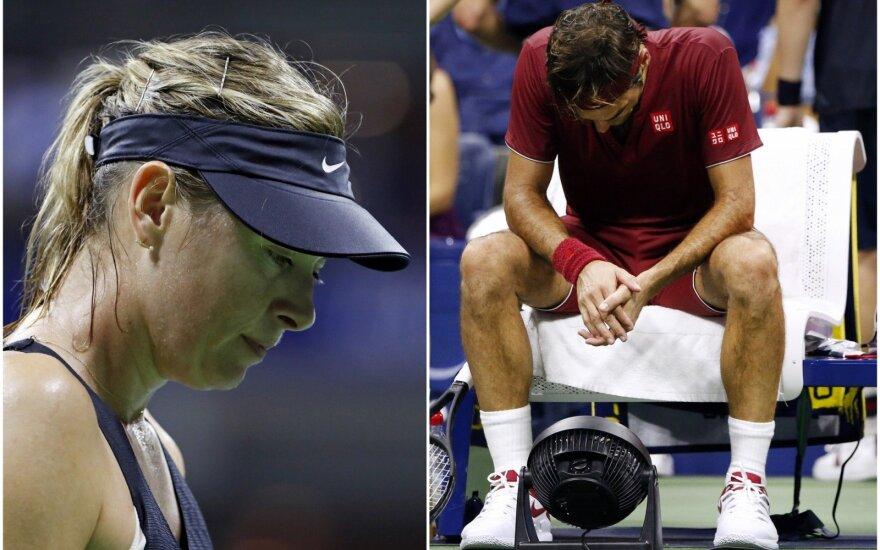 Marija Šarapova, Rogeris Federeris