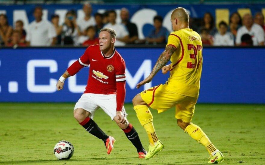 Wayne'as Rooney ir Martinas Skrtelas