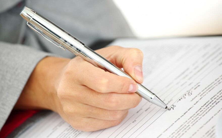 Popierinių deklaracijų jau nebereikia pildyti