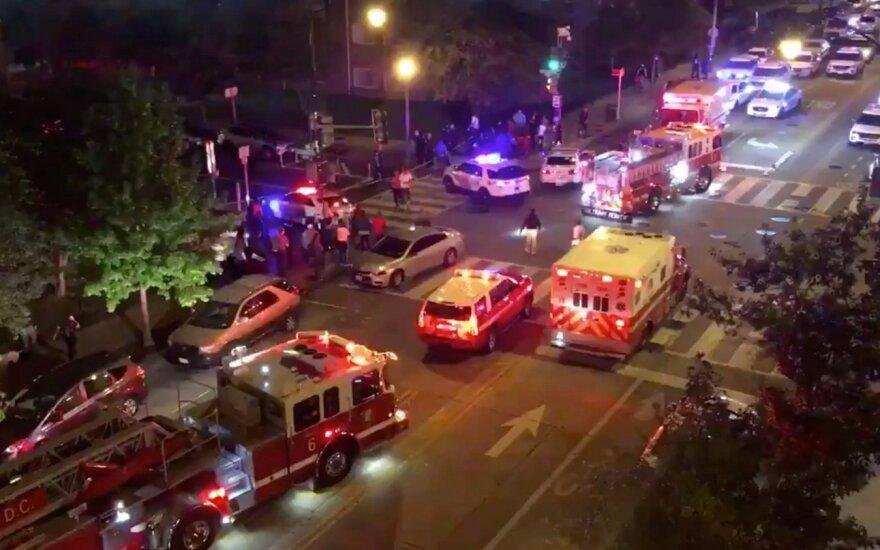 Per du šaudymo incidentus Vašingtone žuvo vienas, sužeisti aštuoni žmonės