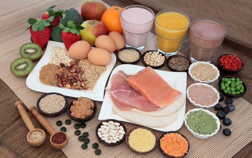Mitybos specialistas: baltymai būtini ne tik sportuojantiems