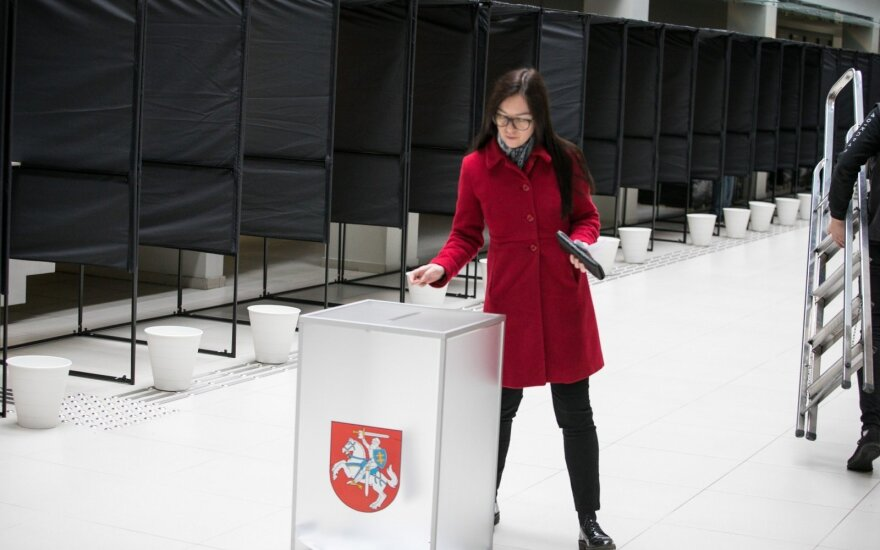 Almost 17 thousand Lithuanians vote on 1st day of early voting