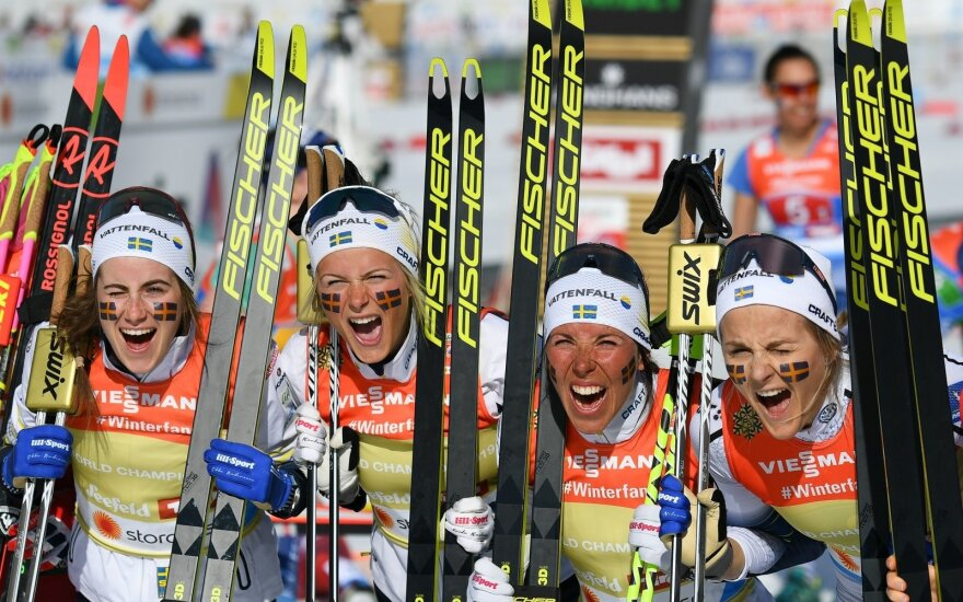 Švedijos moterų slidinėjimo rinktinė