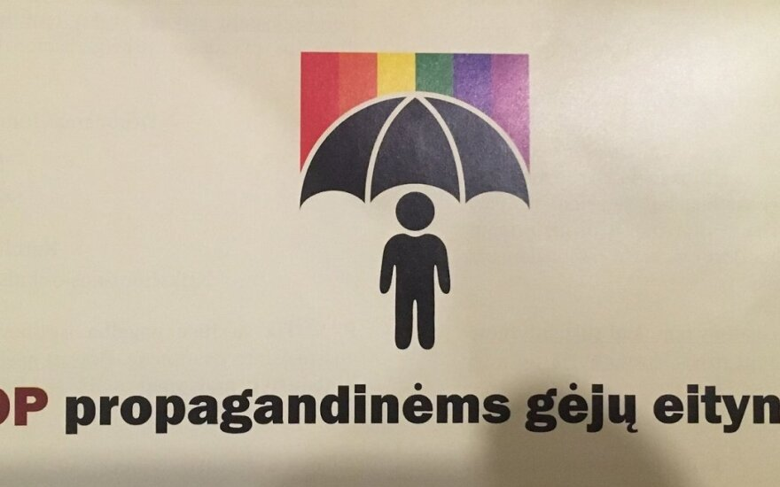 Tarptautinę tolerancijos dieną sugadino gautas lankstinukas