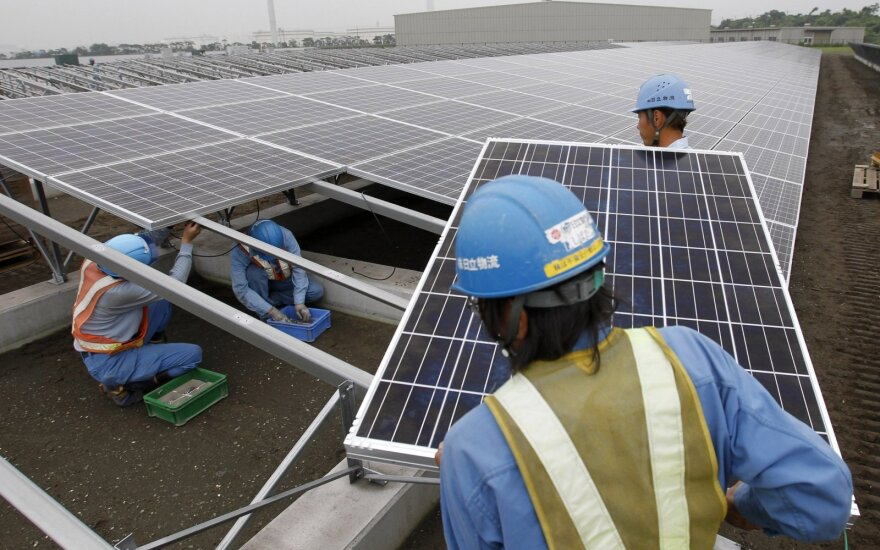 Saulės jėgainės Japonijoje