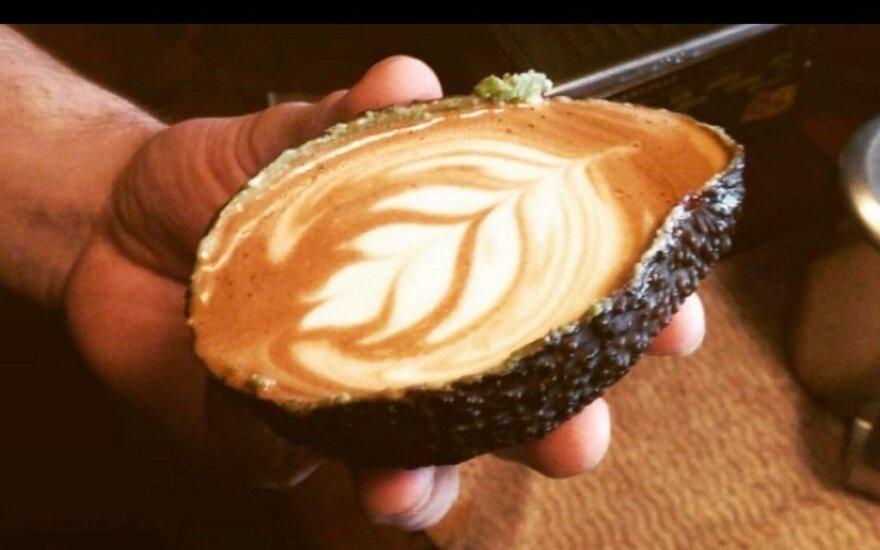 Nauja hipsterių mada – kava avokade