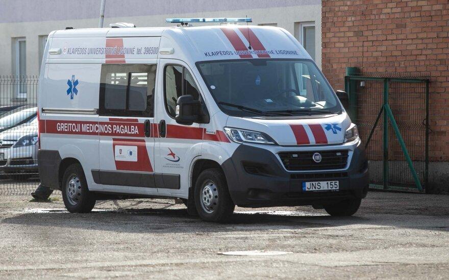 Naktį nuo koronaviruso mirusi moteris užsikrėsti galėjo ligoninėje