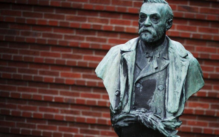 Alfredo Nobelio skulptūra