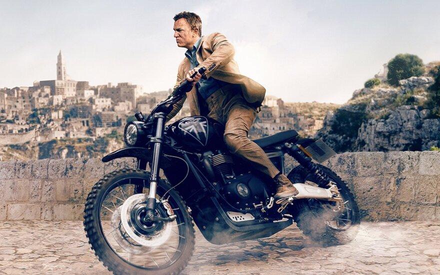 """Kadras iš filmo """"Mirtis palauks"""", Danielis Craigas"""