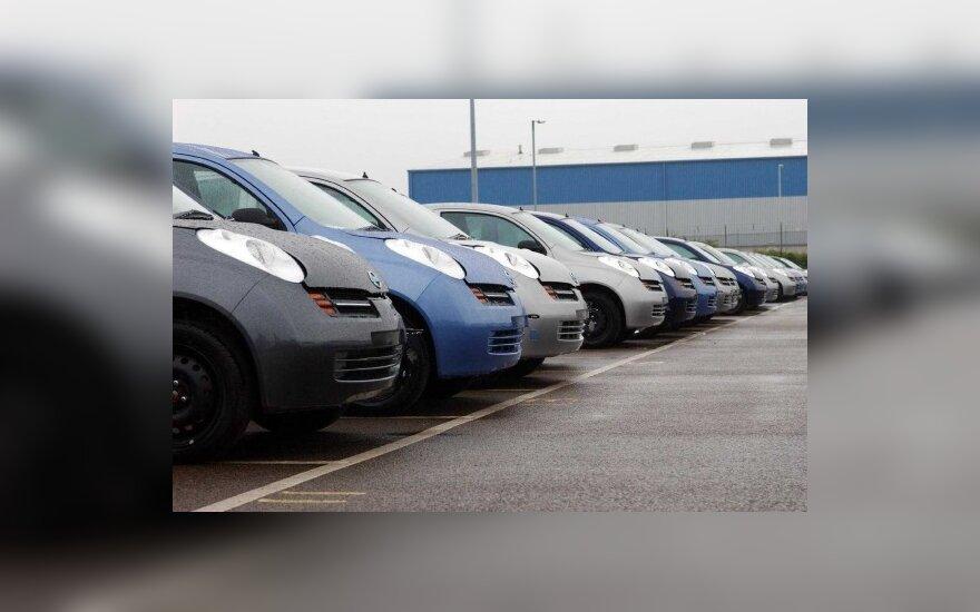 Automobilių pramonėje kitąmet laukiama krizės pabaigos