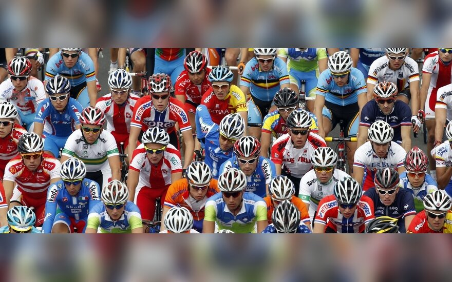 A.Kruopis dviratininkų lenktynėse Prancūzijoje penktadienį finišavo penktas