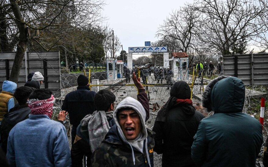 Erdoganas: netrukus į ES plūstels milijonai migrantų