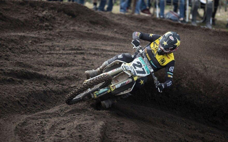 Arminui Jasikoniui Pasaulio motokroso čempionate iki podiumo pritrūko vos vieno taško