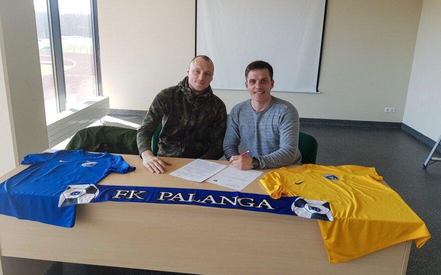 "Ivan Ivanov, FK ""Palanga"" (klubo nuotr.)"