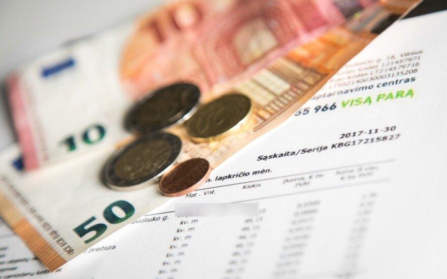 Vilniaus miesto komunalinės įmonės raginamos per karantiną atidėti mokėjimus