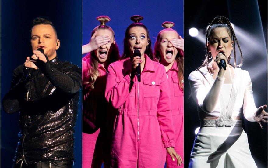 """Trečioji """"Eurovizijos"""" atrankos laida"""