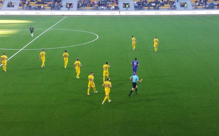 Gruzinai ir baltarusiai priartėjo prie UEFA Čempionų lygos