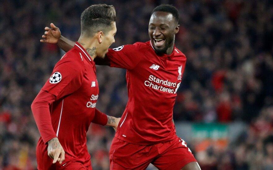 """Čempionų lygos ketvirtfinalis: """"Liverpool"""" - """"Porto"""""""