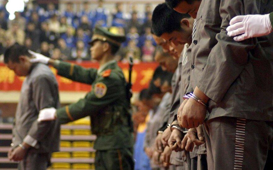 Kinija teigia mirties bausmę taikanti retai