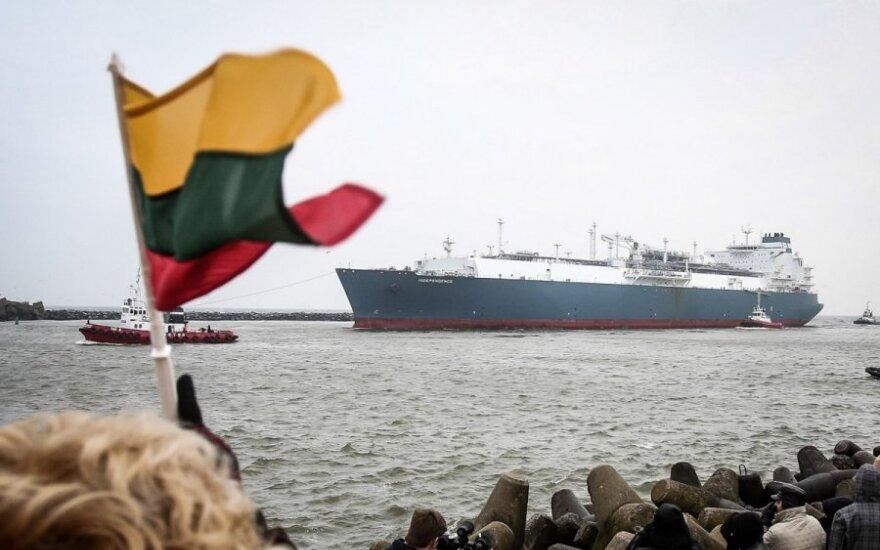 """""""Bloomberg"""" teigia, kad Lietuva norėtų pirkti mažiau dujų SGD terminalui"""
