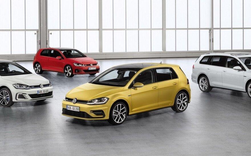 "Modernizuotas septintosios kartos ""Volkswagen Golf"""