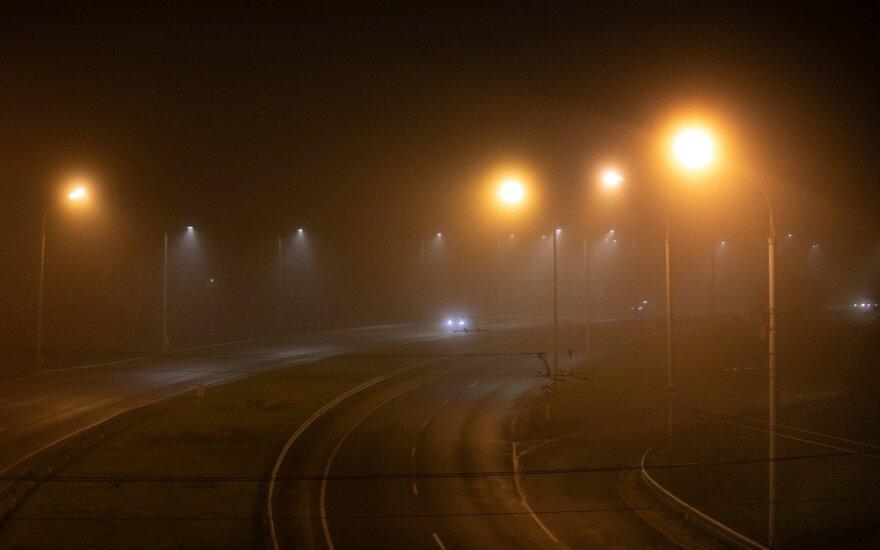 Į Lietuvą atkeliauja tikras šaltukas: kai kur pūs stiprus vėjas